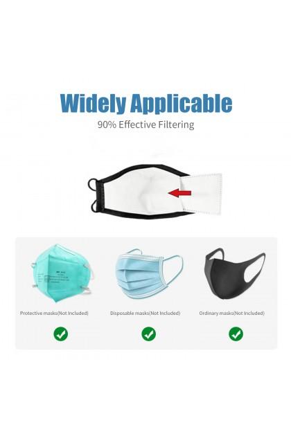 Adult 3-Layer PM2.5 Safety Mask Filter Insert 成人口罩三层滤片PM2.5过滤片